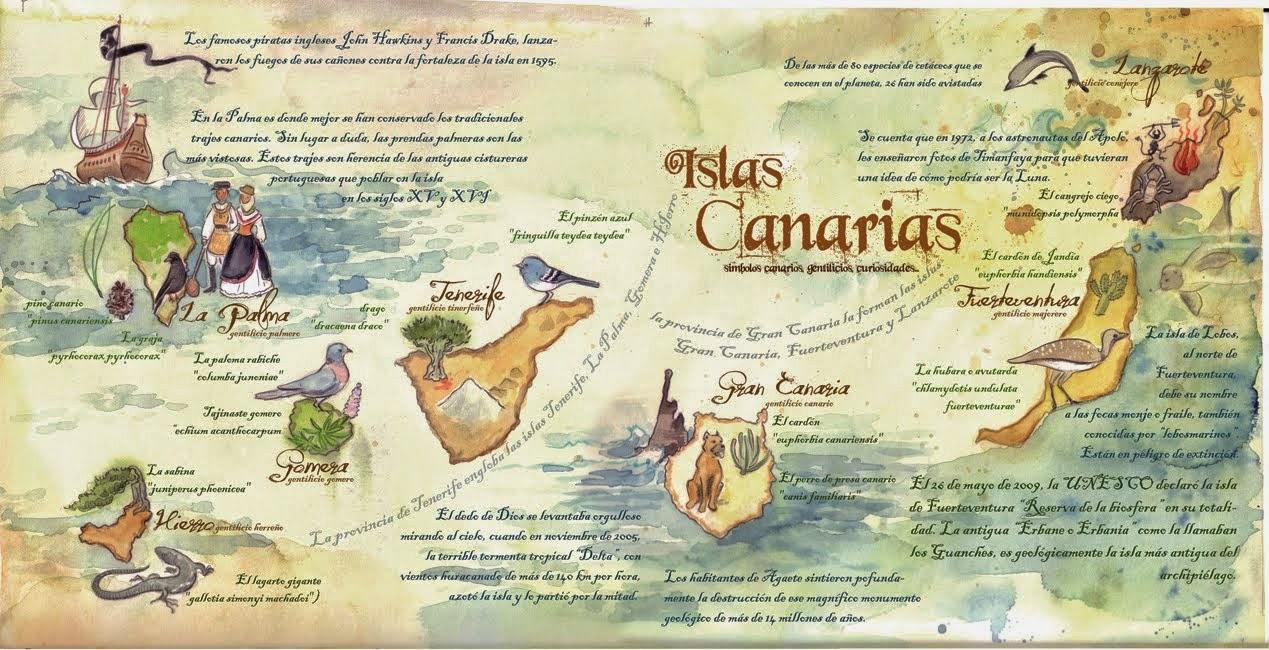 El primer baño del año en las Islas Afortunadas.