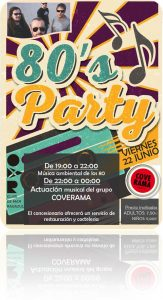 80´s Party CDM Radazul
