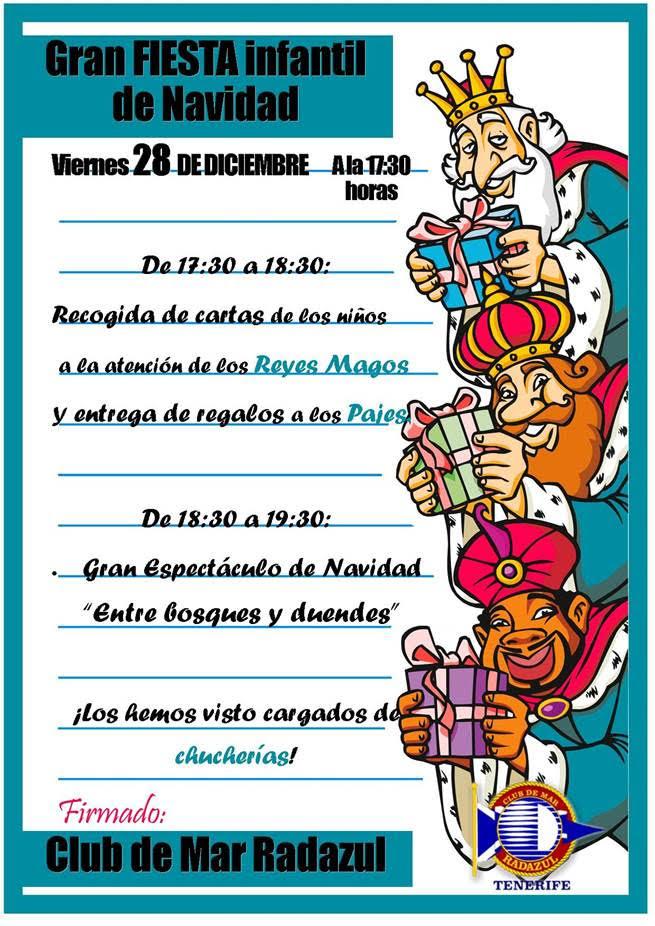 Fiesta Infantil Navidad 28Dic