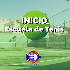 Comienzo Escuela de Tenis
