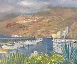 Antonio López Portero - artista - exposición - club de mar radazul - radazul