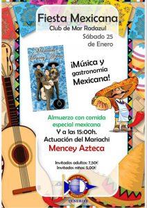 Fiesta mexicana ¡¡con todo el sabor de #México!! | CMRadazul
