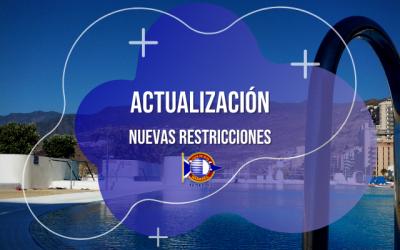 Actualización de las restricciones | CMRadazul