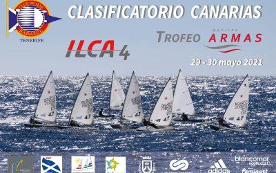 Este fin de semana Club de Mar Radazul celebrará el Clasificatorio Canarias ILCA4 – Trofeo Naviera Armas.